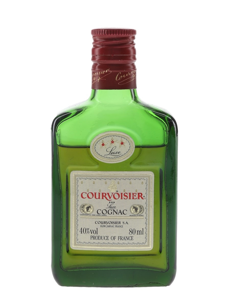 Courvoisier 3 Star Luxe Bottled 1980s 8cl / 40%