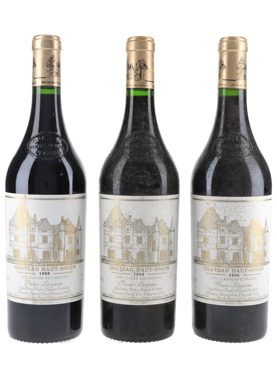 Chateau Haut Brion 1996 Premier Grand Cru Classe - Pessac-Leognan 3 x 75cl / 13%