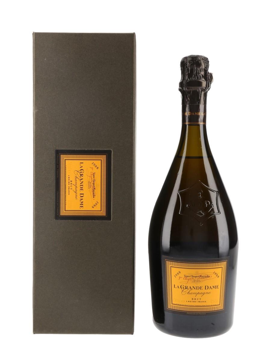 Veuve Clicquot Ponsardin 1988 La Grande Dame  75cl / 12.5%