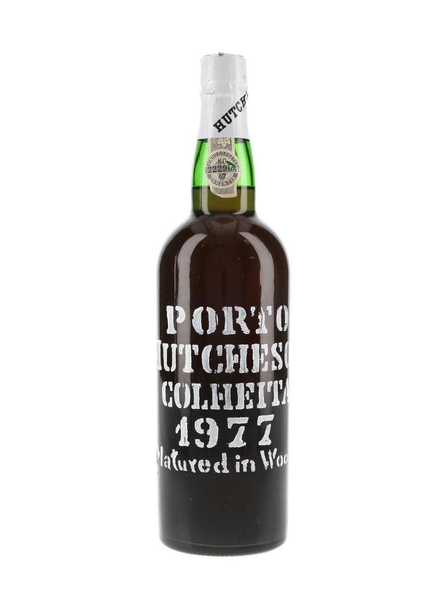 Hutcheson 1977 Colheita Port Bottled 1989 75cl / 20%