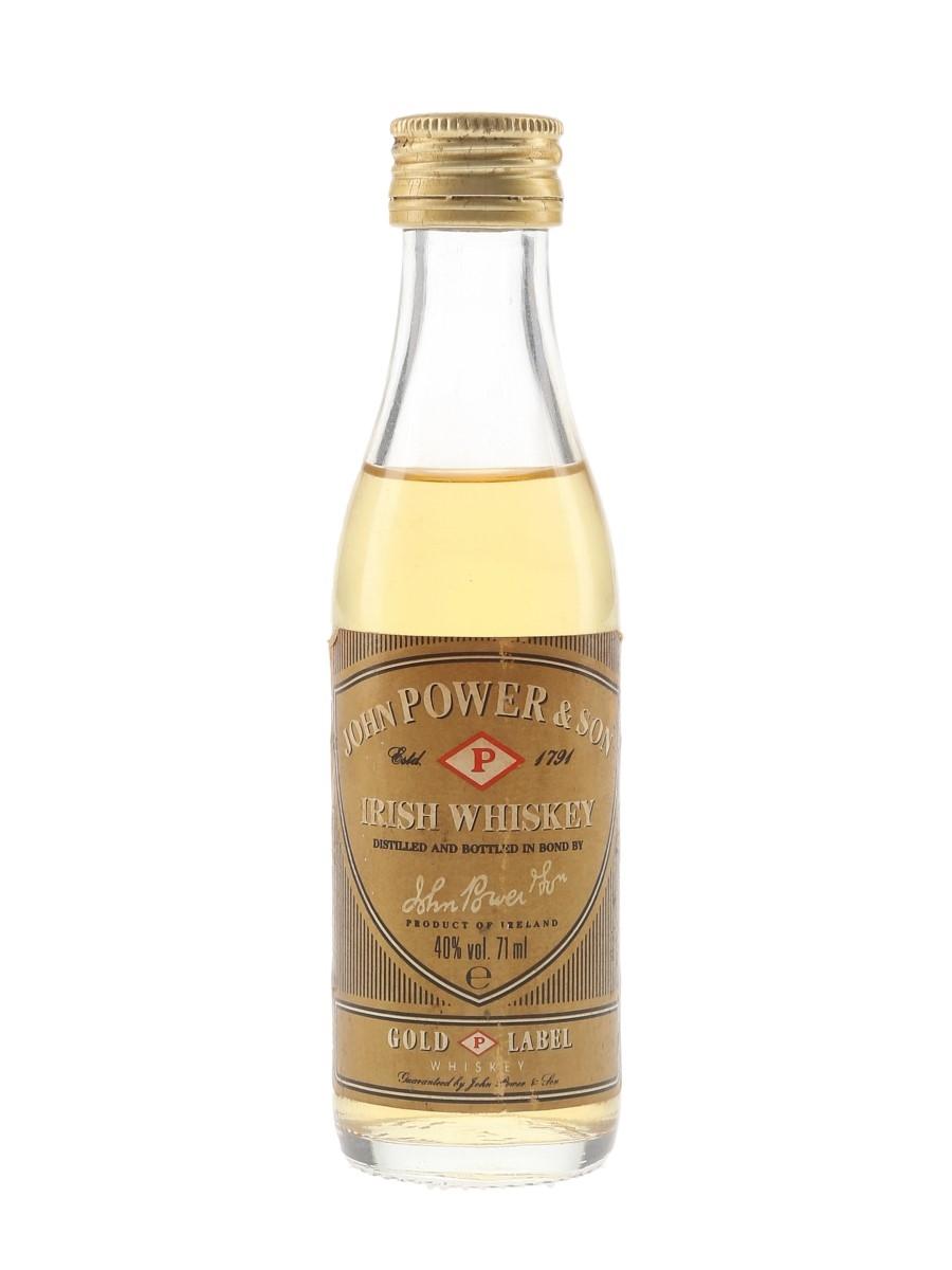 John Power & Sons Gold Label Bottled 1980s 7.1cl / 40%
