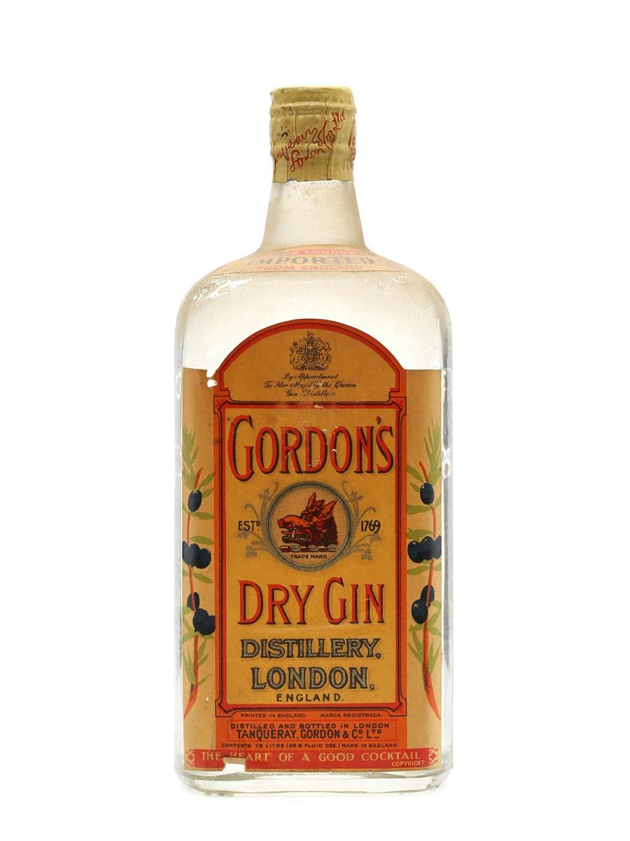 Gordon's Dry Gin Spring Cap 75cl