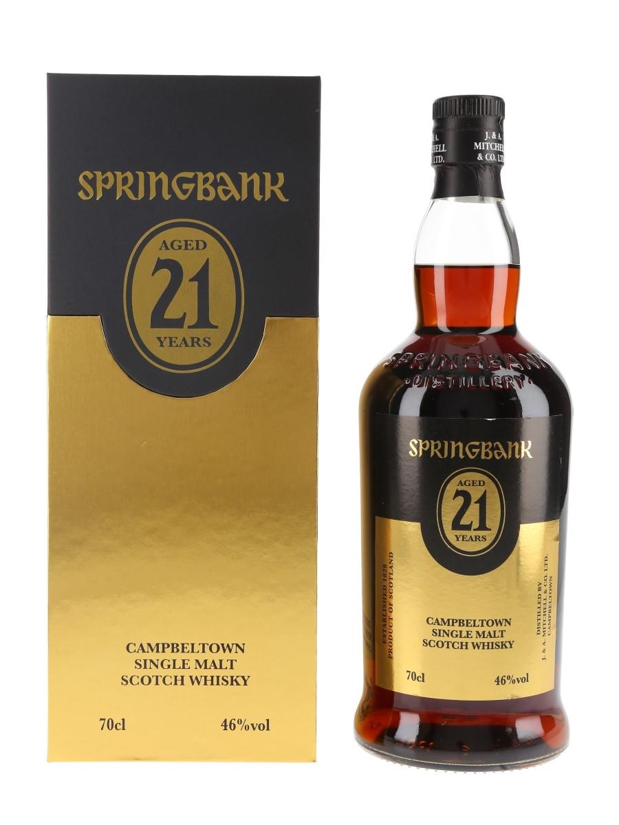 Springbank 21 Year Old Bottled 2020 70cl / 46%