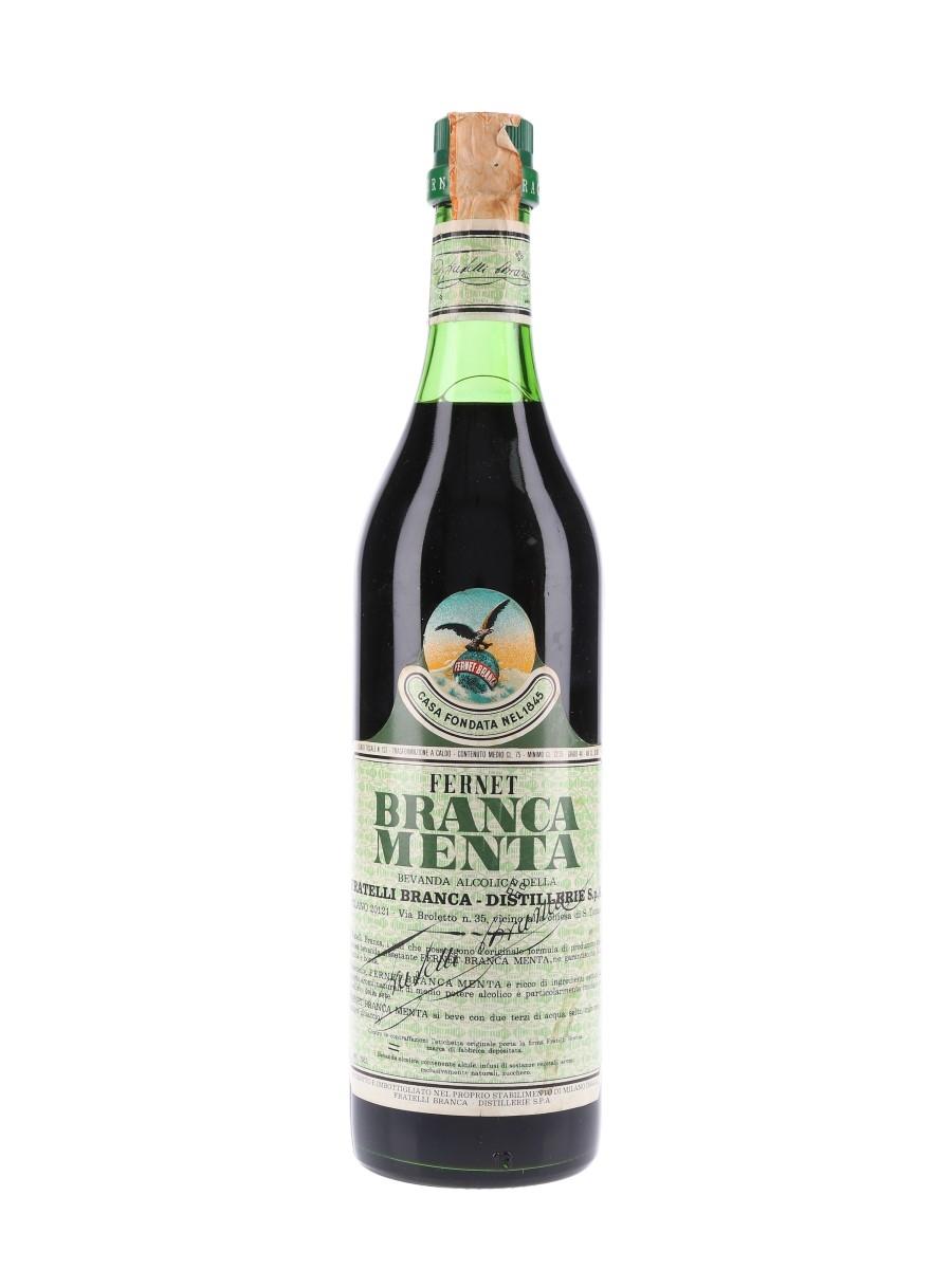 Fernet Branca Menta Bottled 1978 75cl / 40%