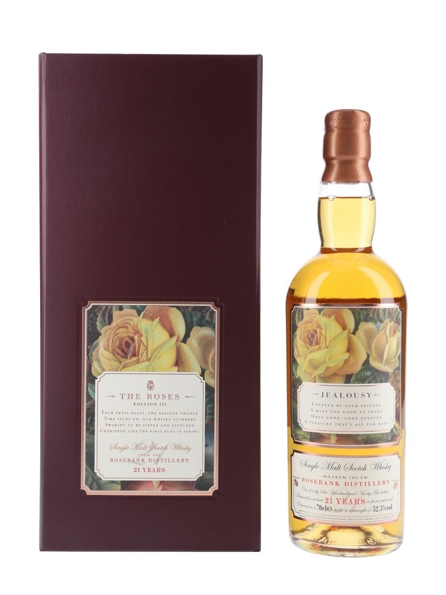Rosebank 21 Year Old Rosebank Roses Edition III - Jealousy 70cl / 52.5%