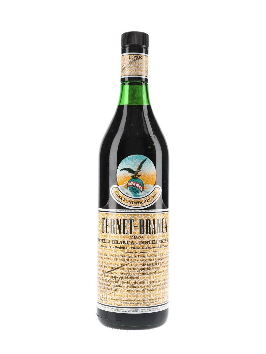 Fernet Branca Bottled 1980s 100cl / 45%