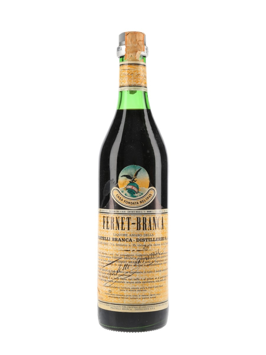 Fernet Branca Bottled 1978 75cl / 45%