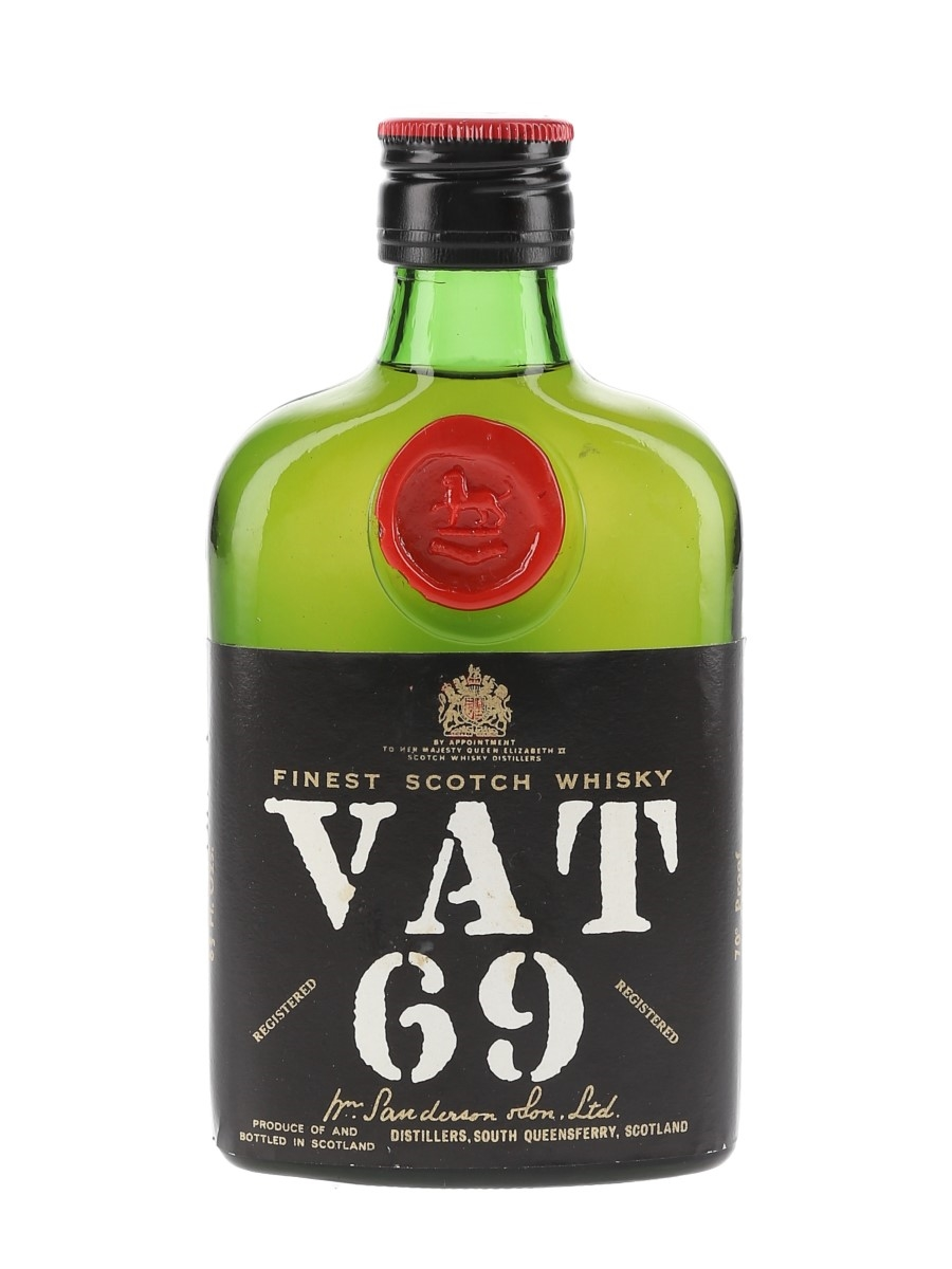 Vat 69 Bottled 1970s 18.9cl / 40%