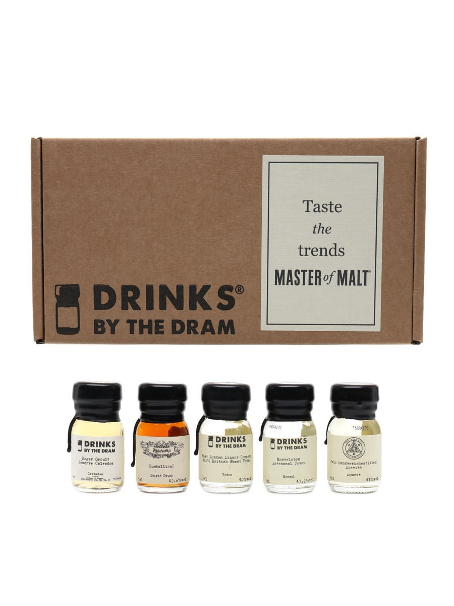 Taste The Trends Master Of Malt Drinks By The Dram 5 x 3cl