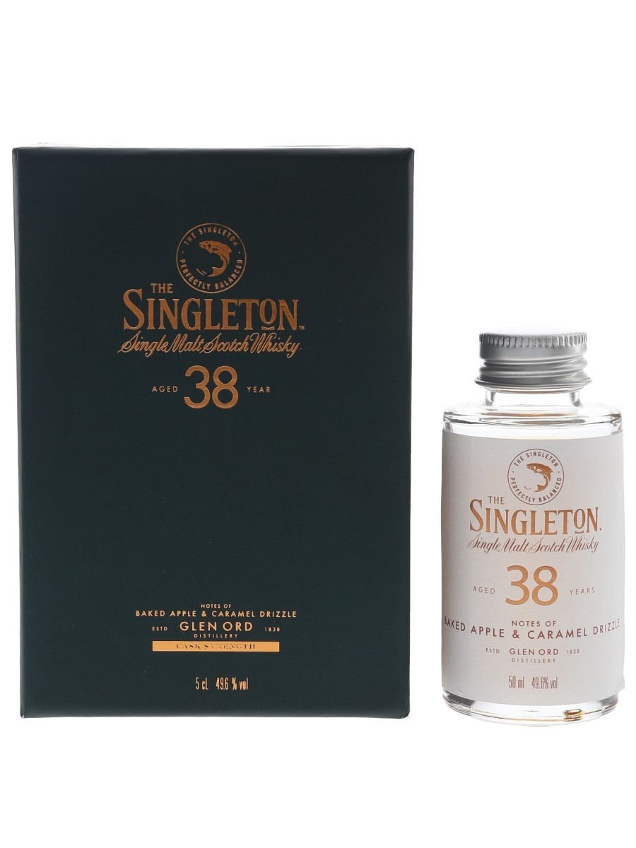The Singleton 38 Year Old Press Sample 5cl / 49.6%