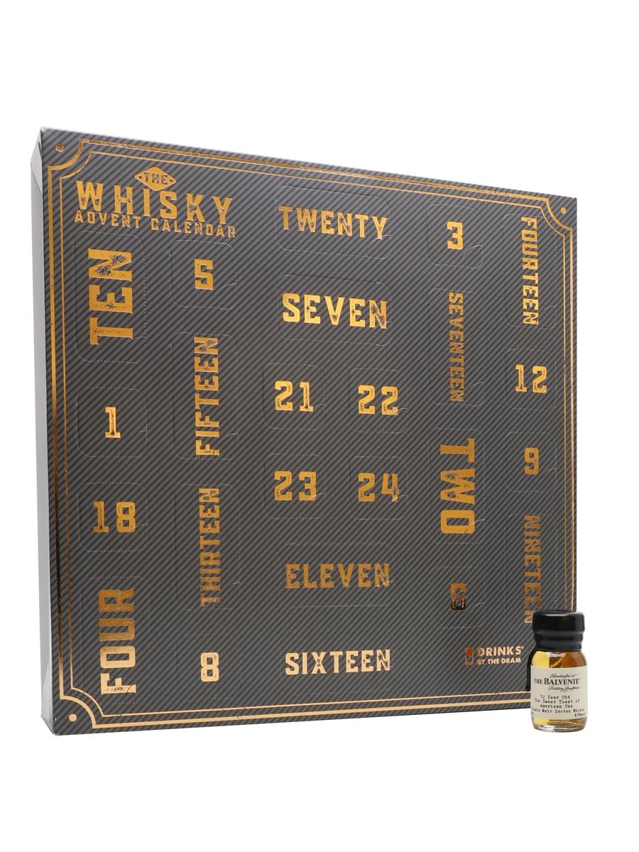 Drinks By The Dram Whisky Advent Calendar Master Of Malt 24 x 3cl