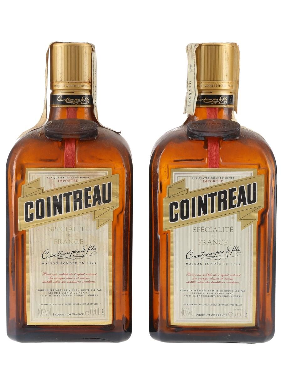 Cointreau Bottled 1990s - Remy Calem 2 x 70cl / 40%