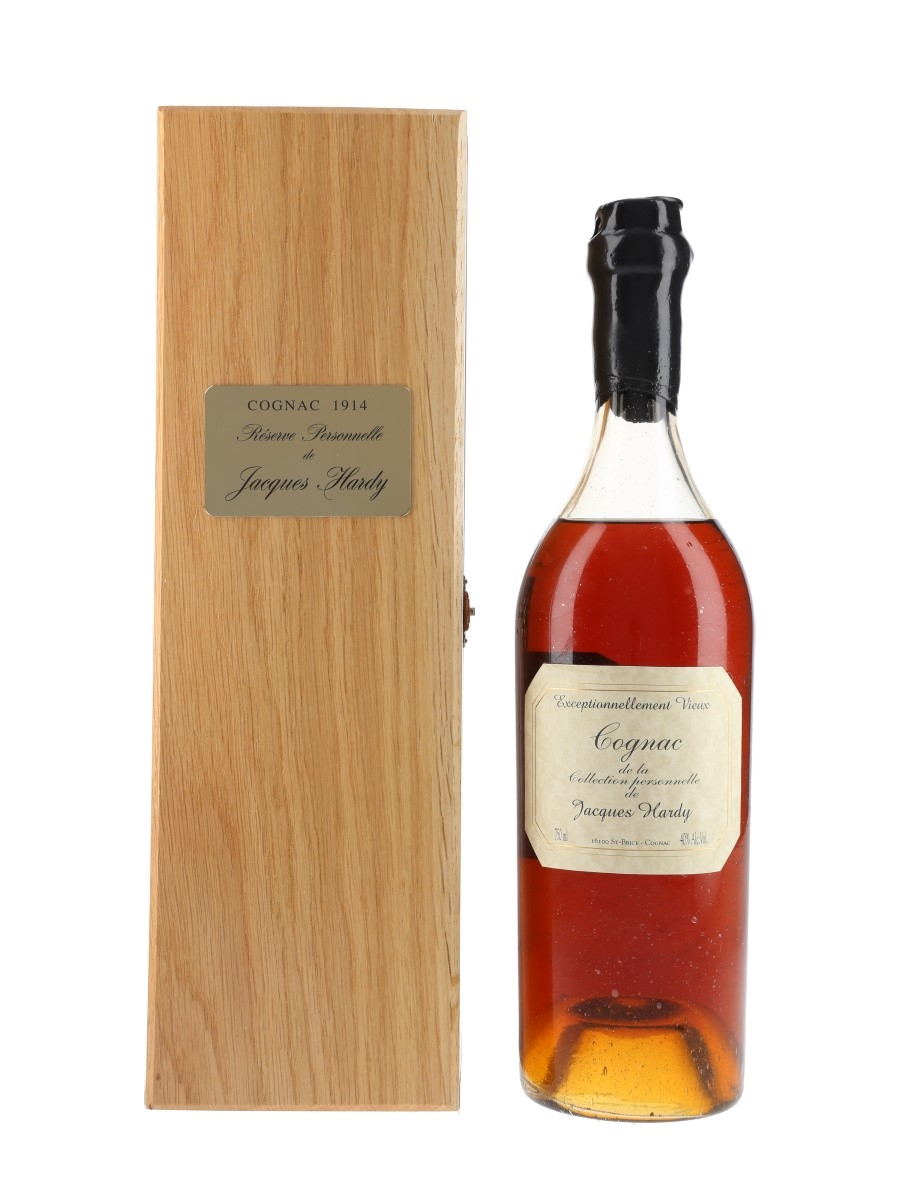 Jacques Hardy 1914 Grande Champagne Cognac First Bottled 1986, Re-bottled 2002 75cl / 41.7%