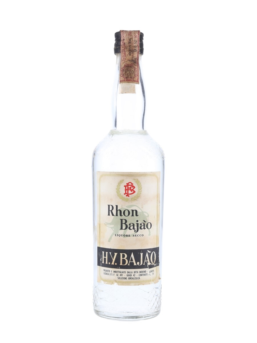 Boero Rhon Bajao Bottled 1960s-1970s 75cl / 42%