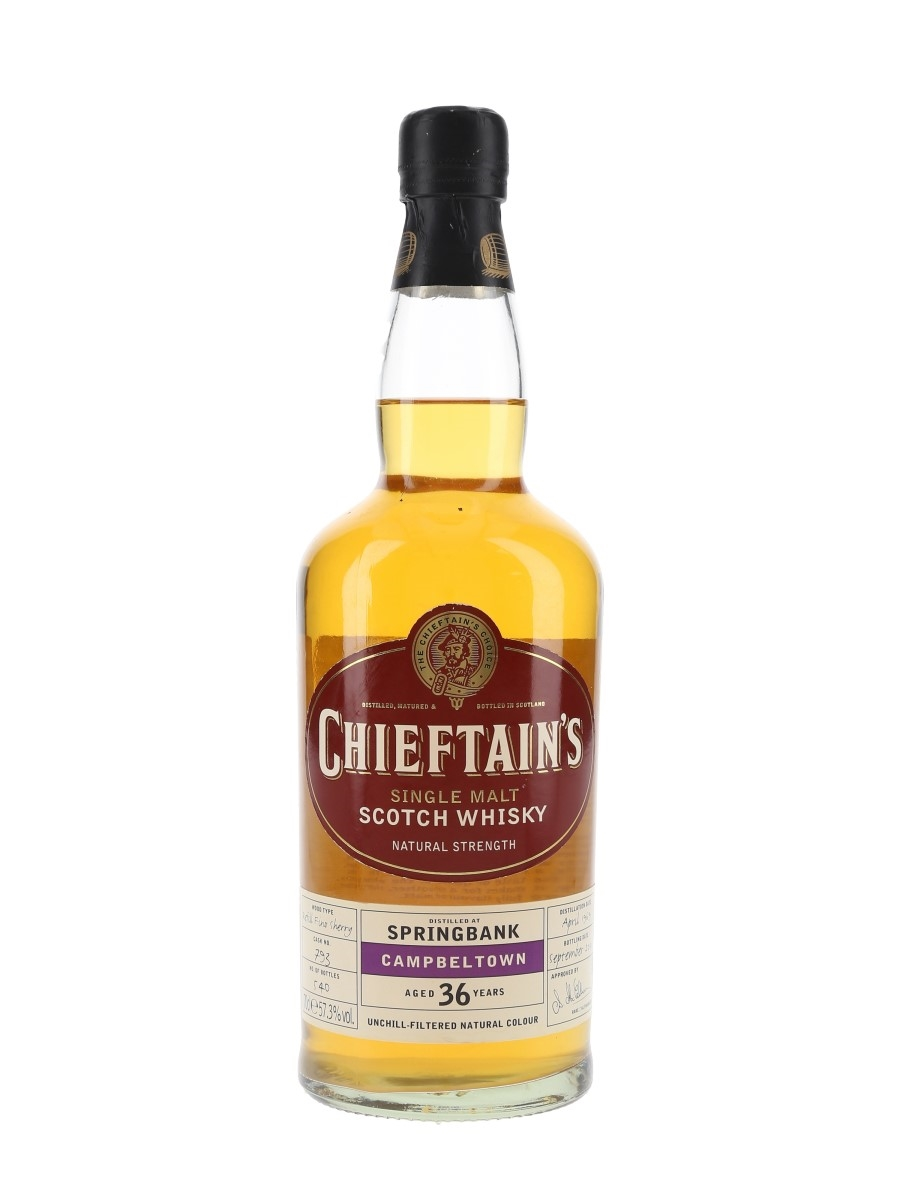 Springbank 1969 36 Year Old Bottled 2005 - Chieftain's Choice 70cl / 57.3%