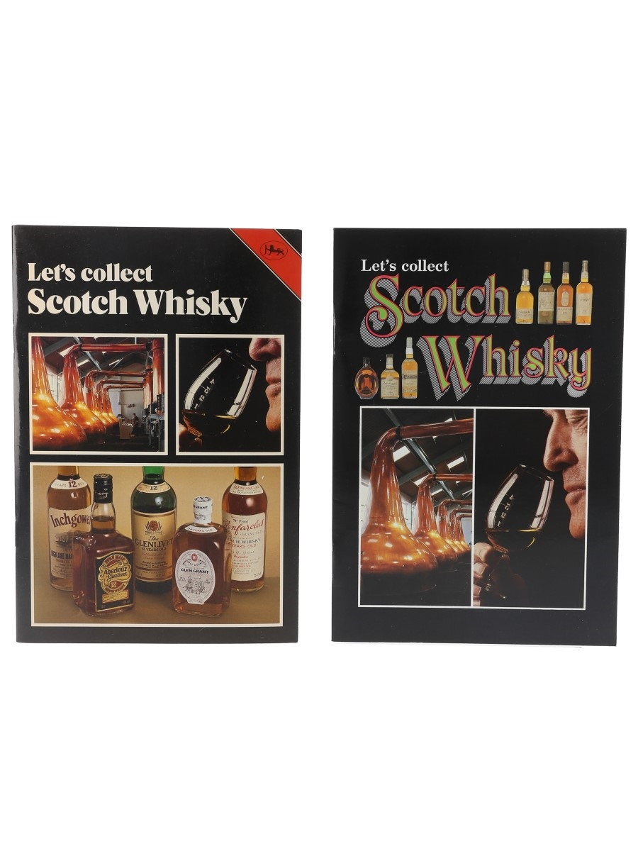 Let's Collect Scotch Whisky David Daiches - Published 1988 & 1990