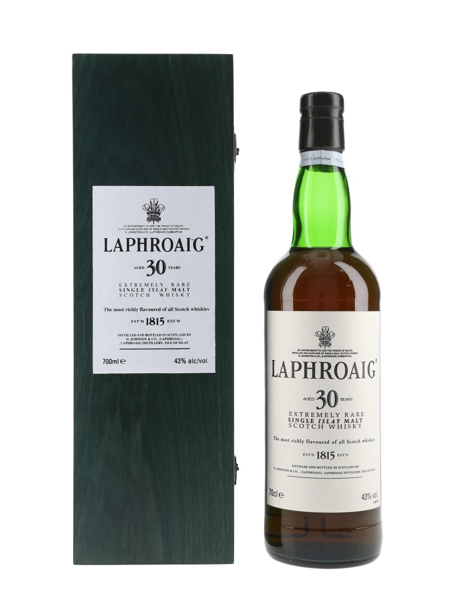 Laphroaig 30 Year Old  70cl / 43%