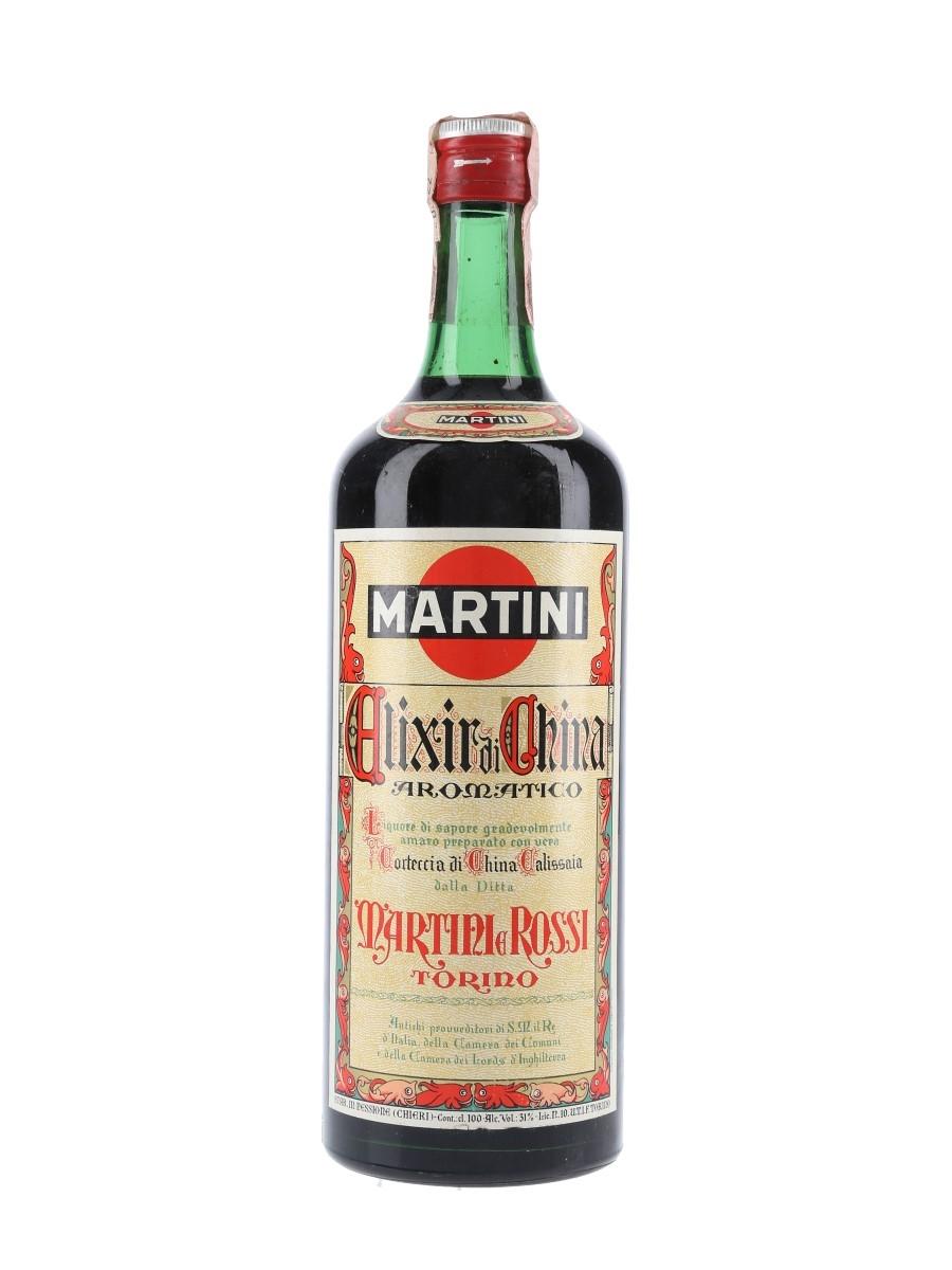 Martini Elixir Di China Bottled 1960s 100cl / 31%