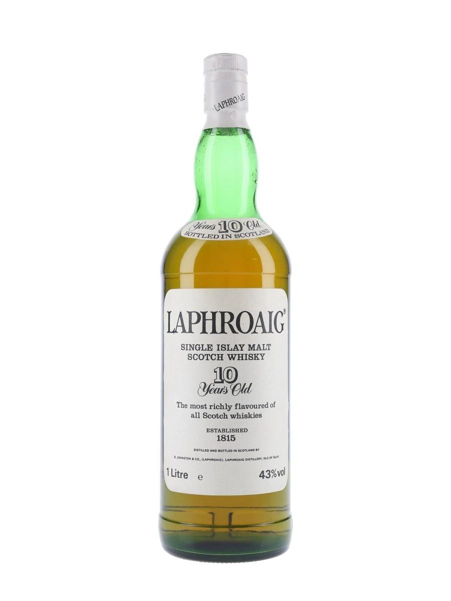 Laphroaig 10 Year Old Bottled 1990s - Pre Royal Warrant 100cl / 43%