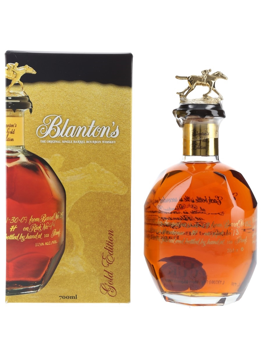 Blanton's Gold Edition Barrel No. 152 Bottled 2019 70cl / 51.5%