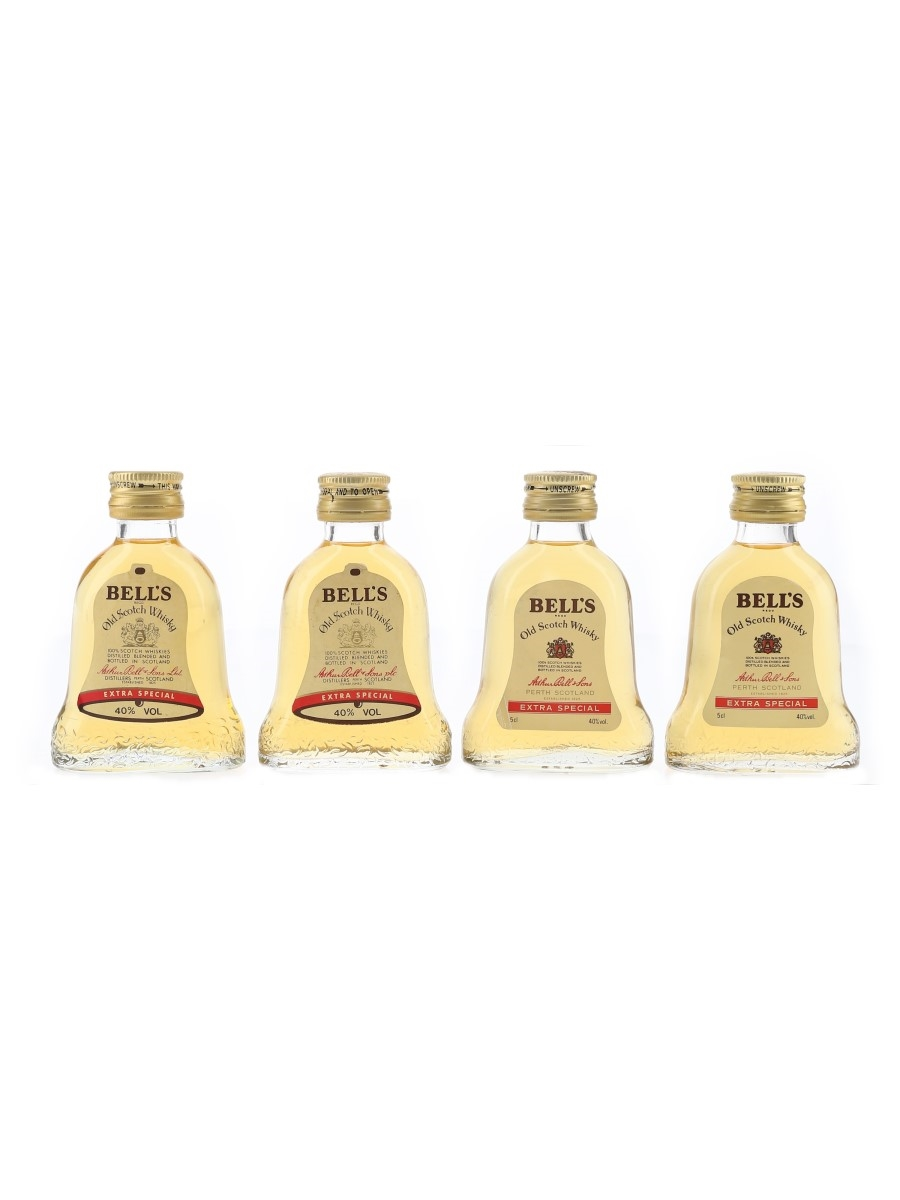 Bell's Extra Special Bottled 1980s 4 x 5cl / 40%