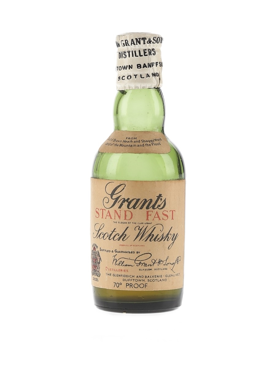 Grant's Stand Fast Bottled 1950s 5cl / 40%