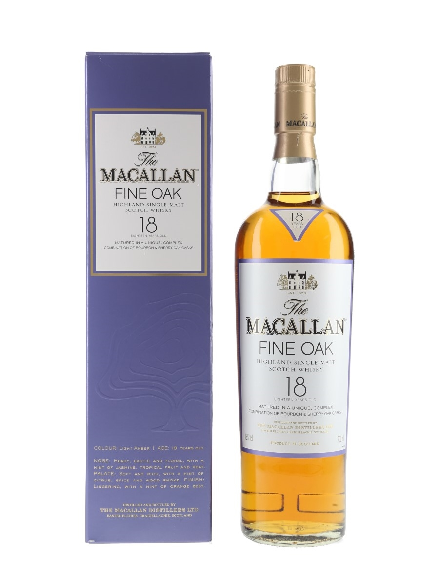 Macallan 18 Year Old Fine Oak  70cl / 43%