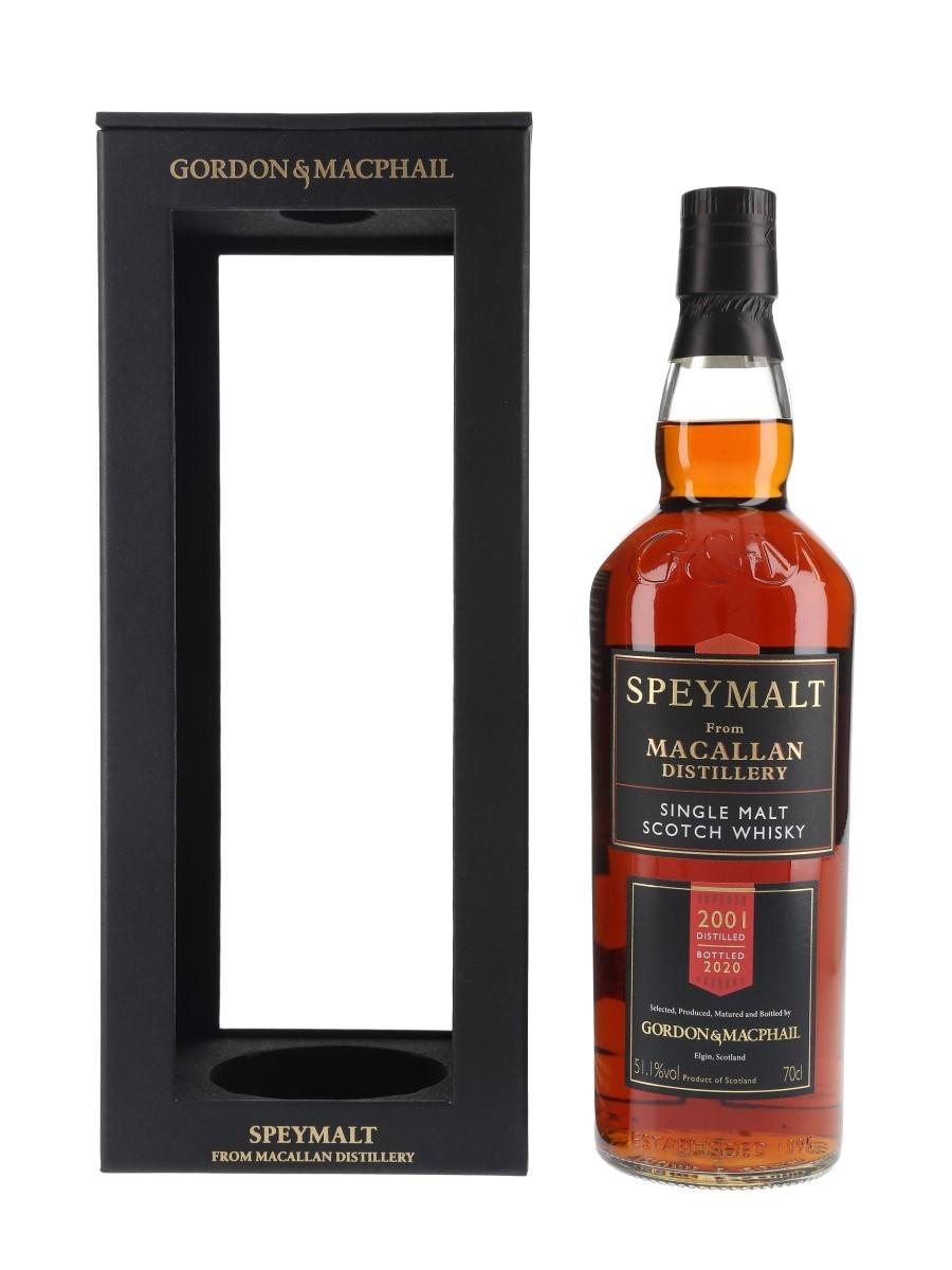 Macallan 2001 Speymalt Cask 3433 Bottled 2020 - Gordon & MacPhail 70cl / 51.1%