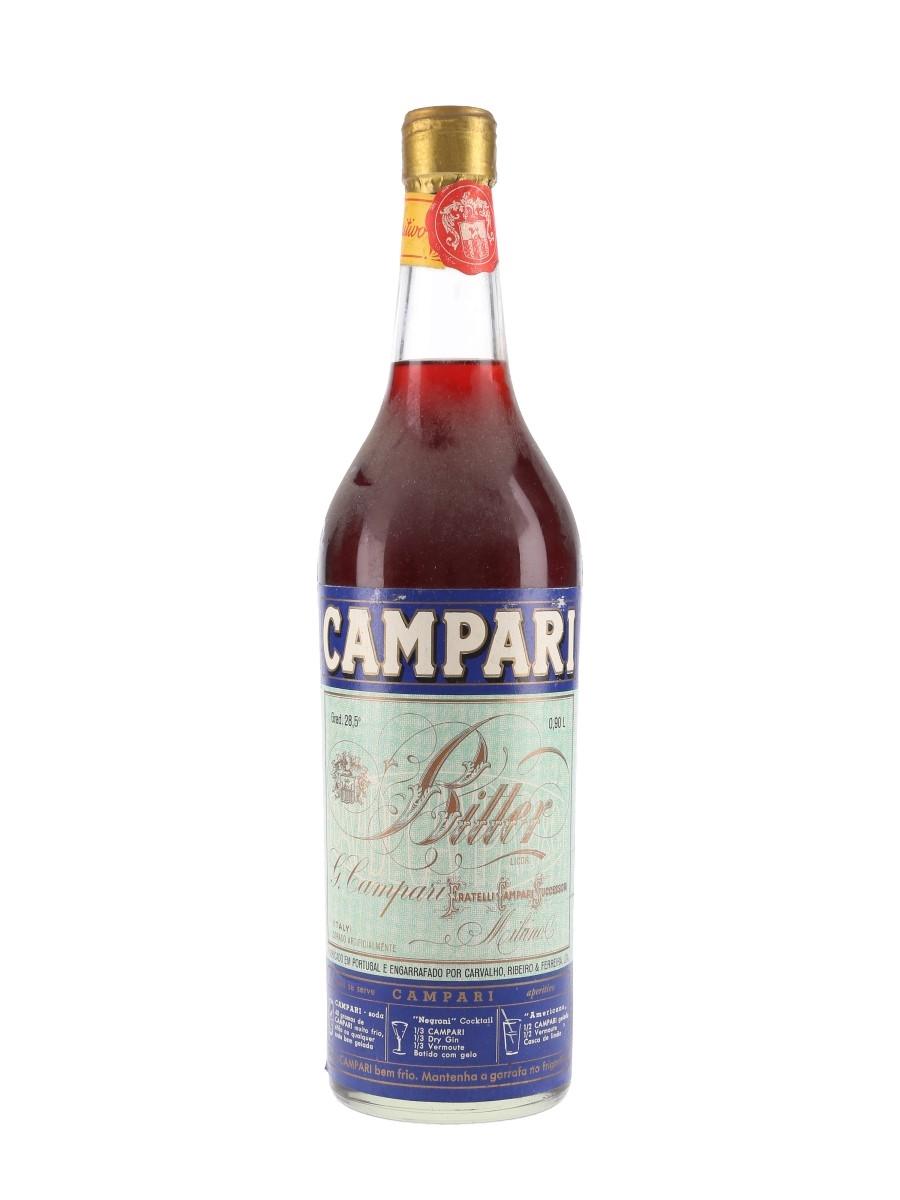 Campari Bitter Bottled 1960s - Portugal 90cl / 28.5%
