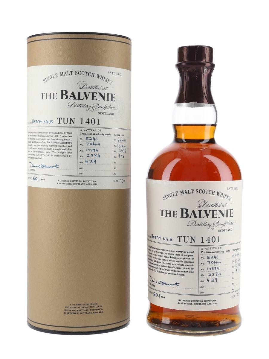 Balvenie Tun 1401 Batch 5 70cl / 50.1%