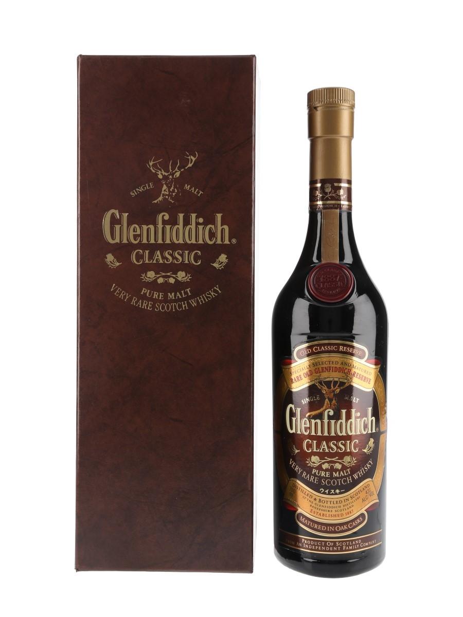Glenfiddich Classic Pure Malt Mercian Import 70cl / 43%