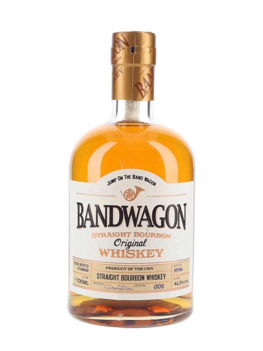 Bandwagon Straight Bourbon Whiskey  70cl / 41.3%