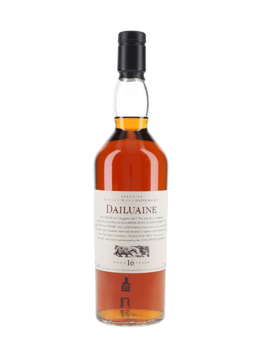 Dailuaine 16 Year Old Flora & Fauna 70cl / 43%