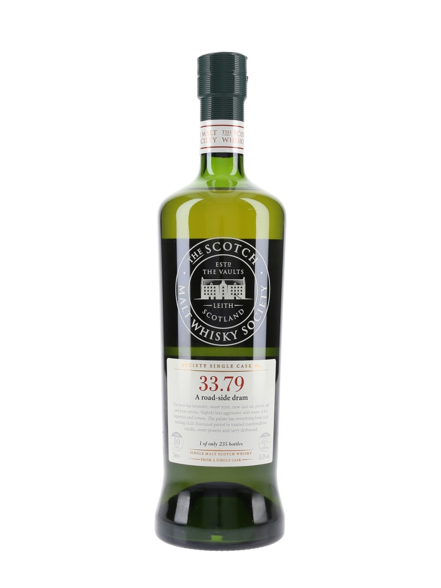 SMWS 33.79 A Road Side Dram Ardbeg 10 Year Old 70cl / 55.3%
