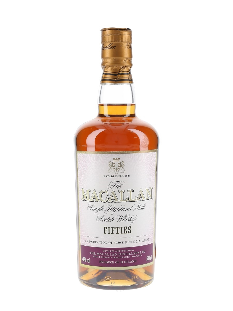 Macallan Travel Series Fifties  50cl / 40%