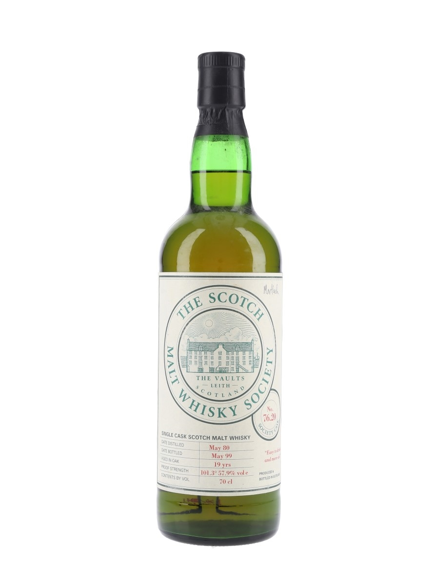 SMWS 76.20 Mortlach 1980 19 Year Old 70cl / 57.9%