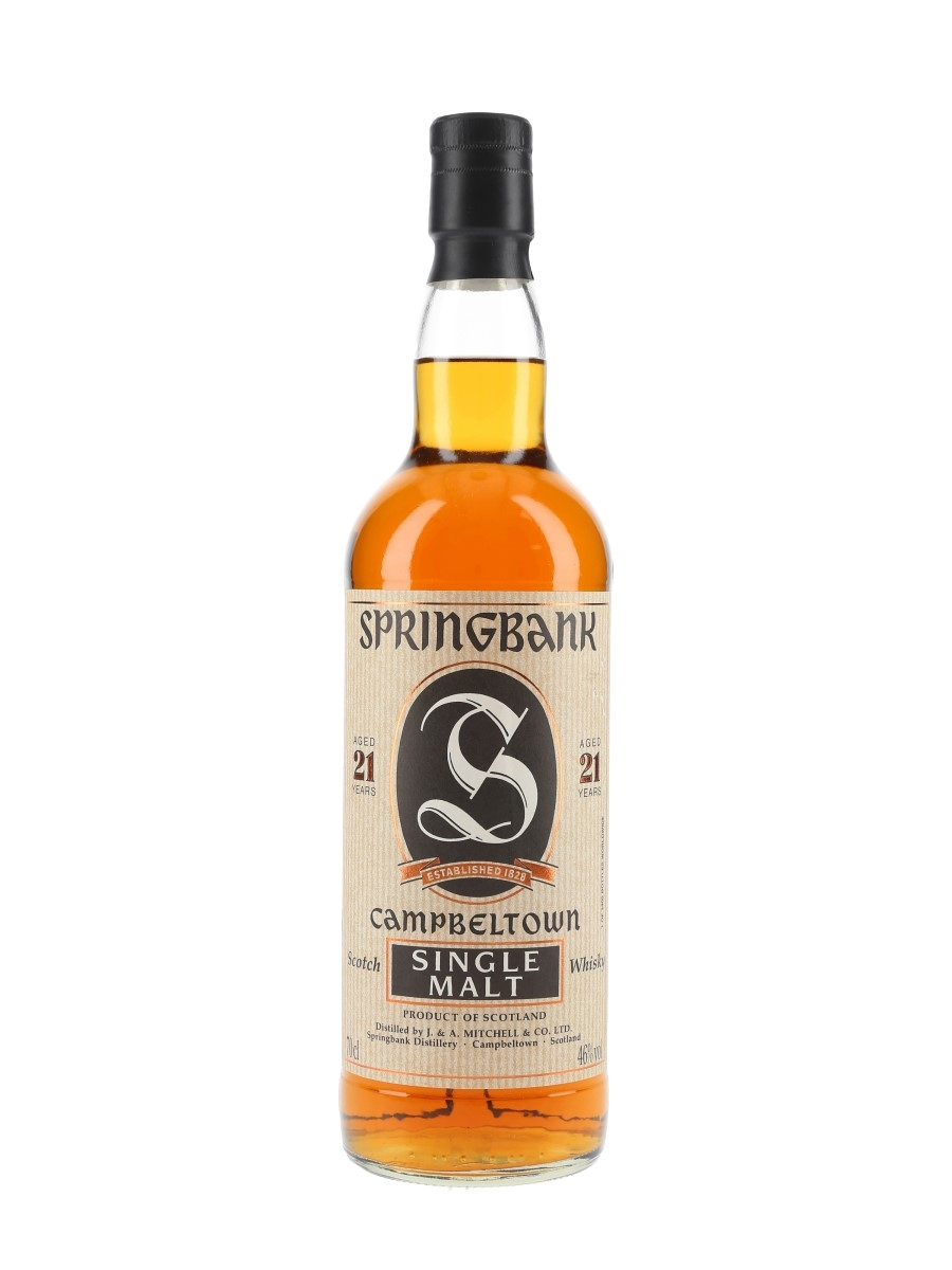 Springbank 21 Year Old Bottled 2000s 70cl / 46%