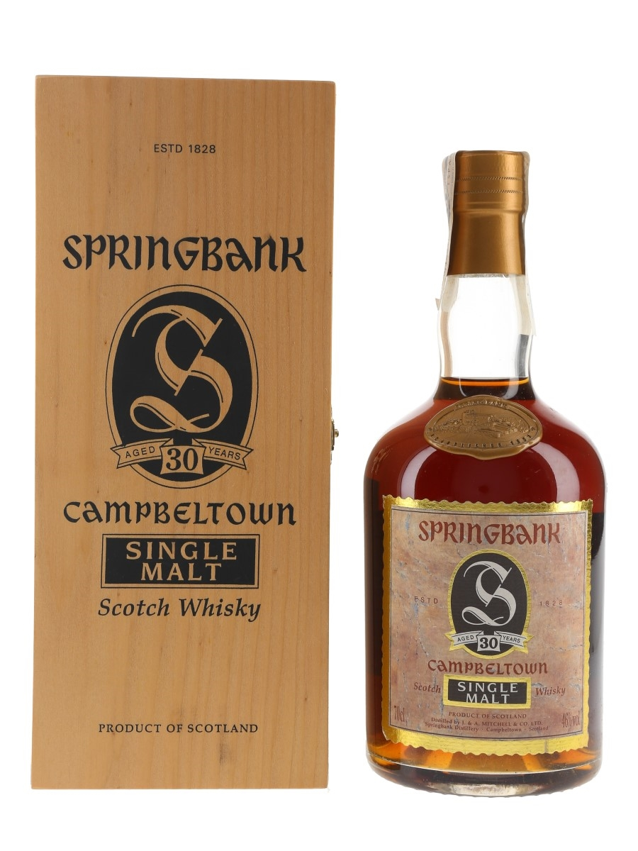 Springbank 30 Year Old Bottled 1990s 70cl / 46%