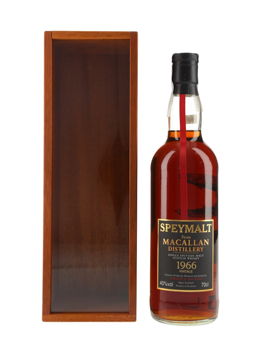 Macallan 1966 Speymalt Bottled 2001 - Gordon & MacPhail 70cl / 40%