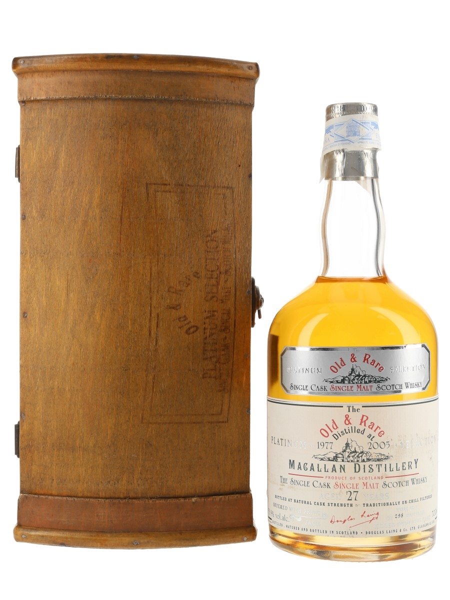 Macallan 1977 27 Year Old Bottled 2005 - Old & Rare Platinum Selection 70cl / 53.9%