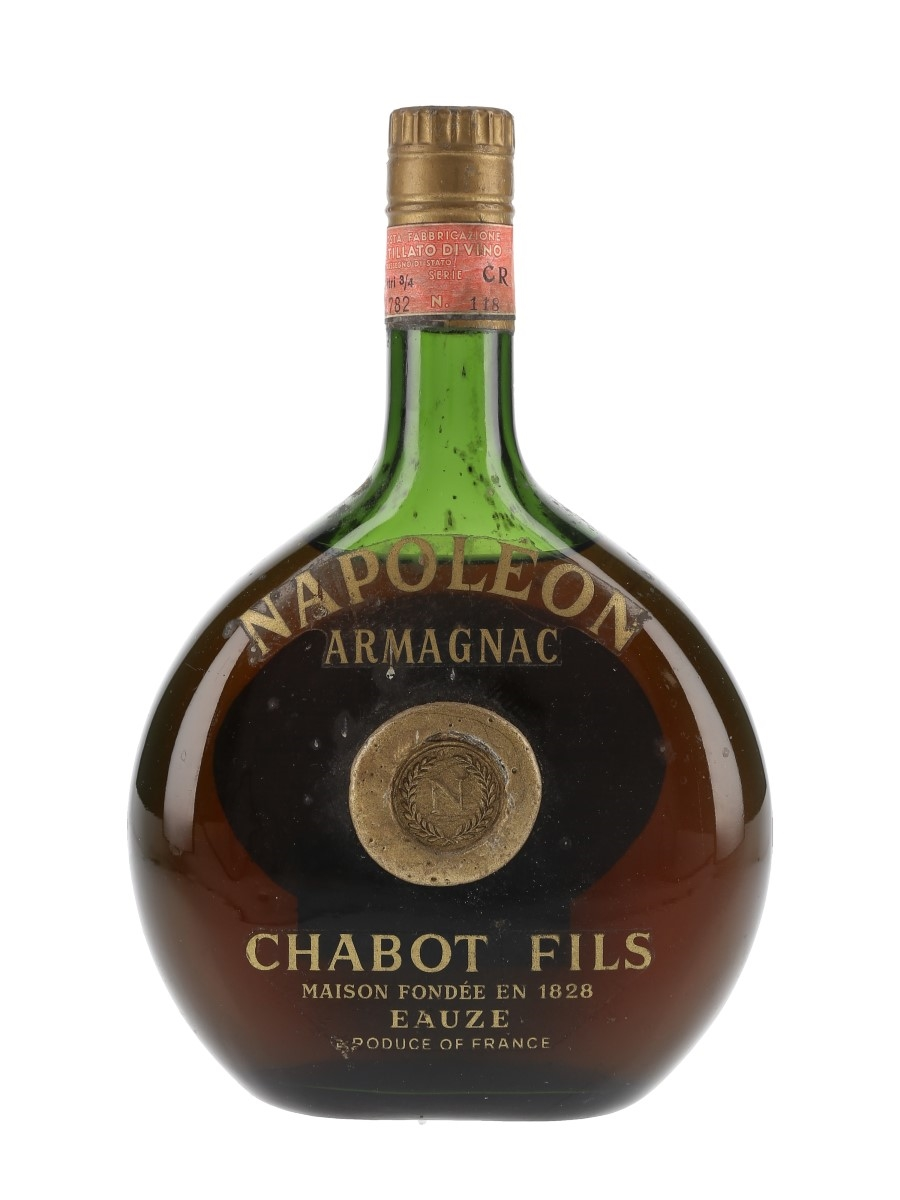 Chabot Napoleon Armagnac Bottled 1970s - Rejna Import 73cl / 40%