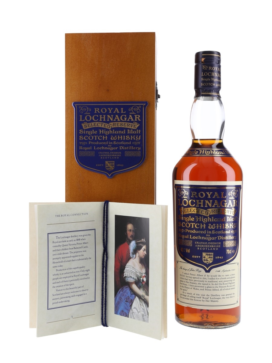Royal Lochnagar Selected Reserve Bottled 1990s 70cl / 43%