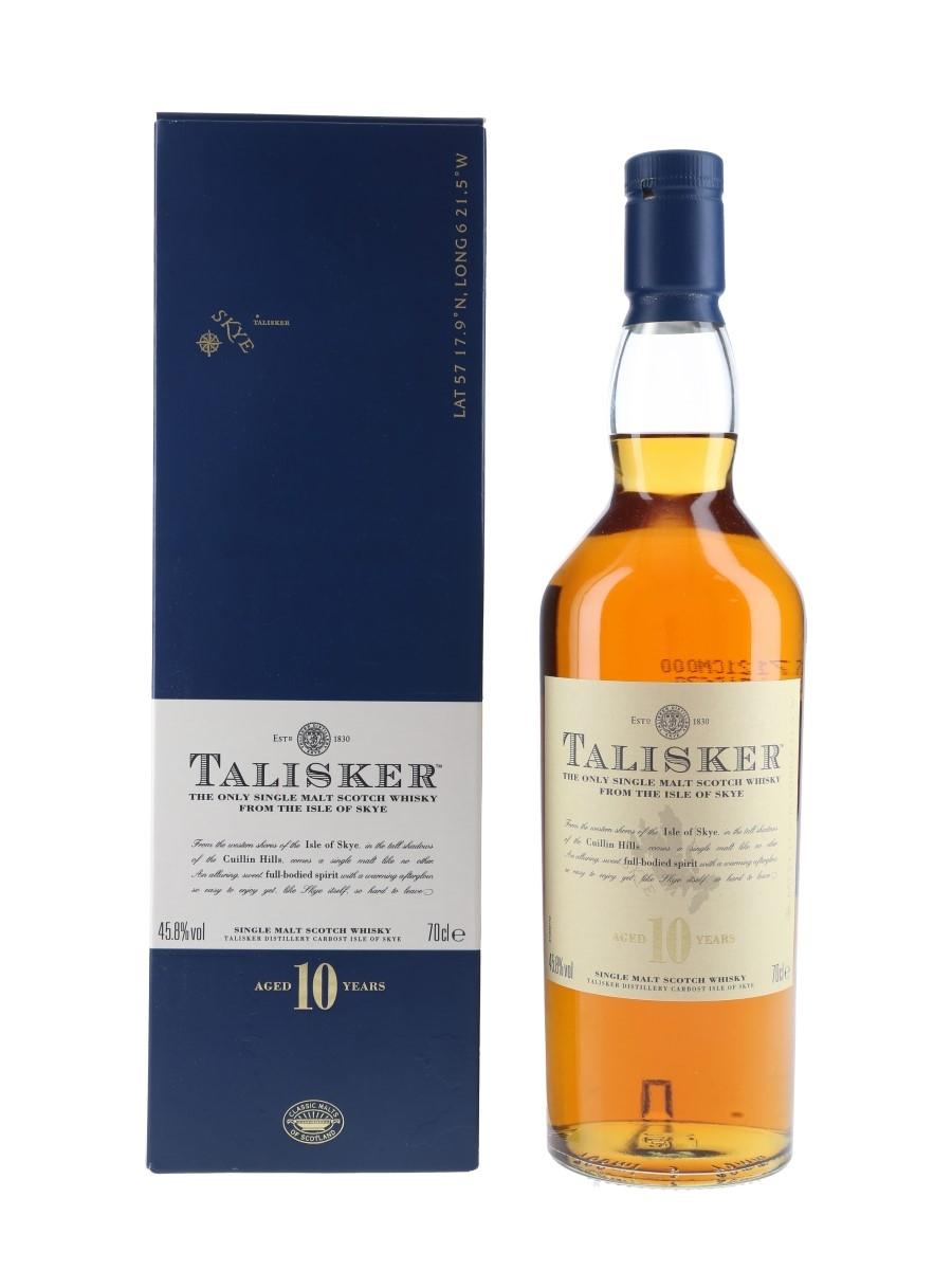 Talisker 10 Year Old Bottled 2000s 70cl / 45.8%