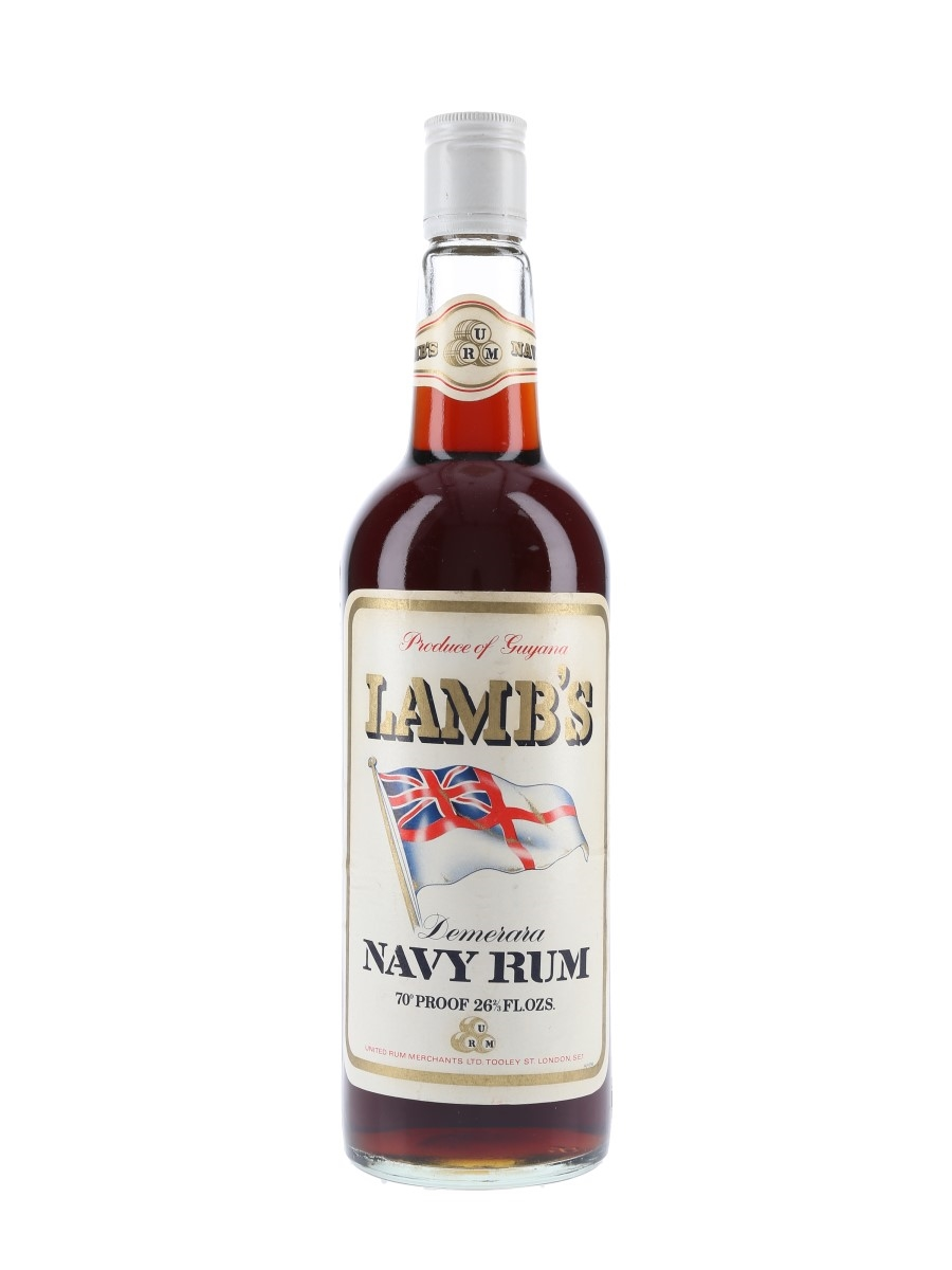 Lamb's Demerara Navy Rum Bottled 1970s 75.7cl / 40%