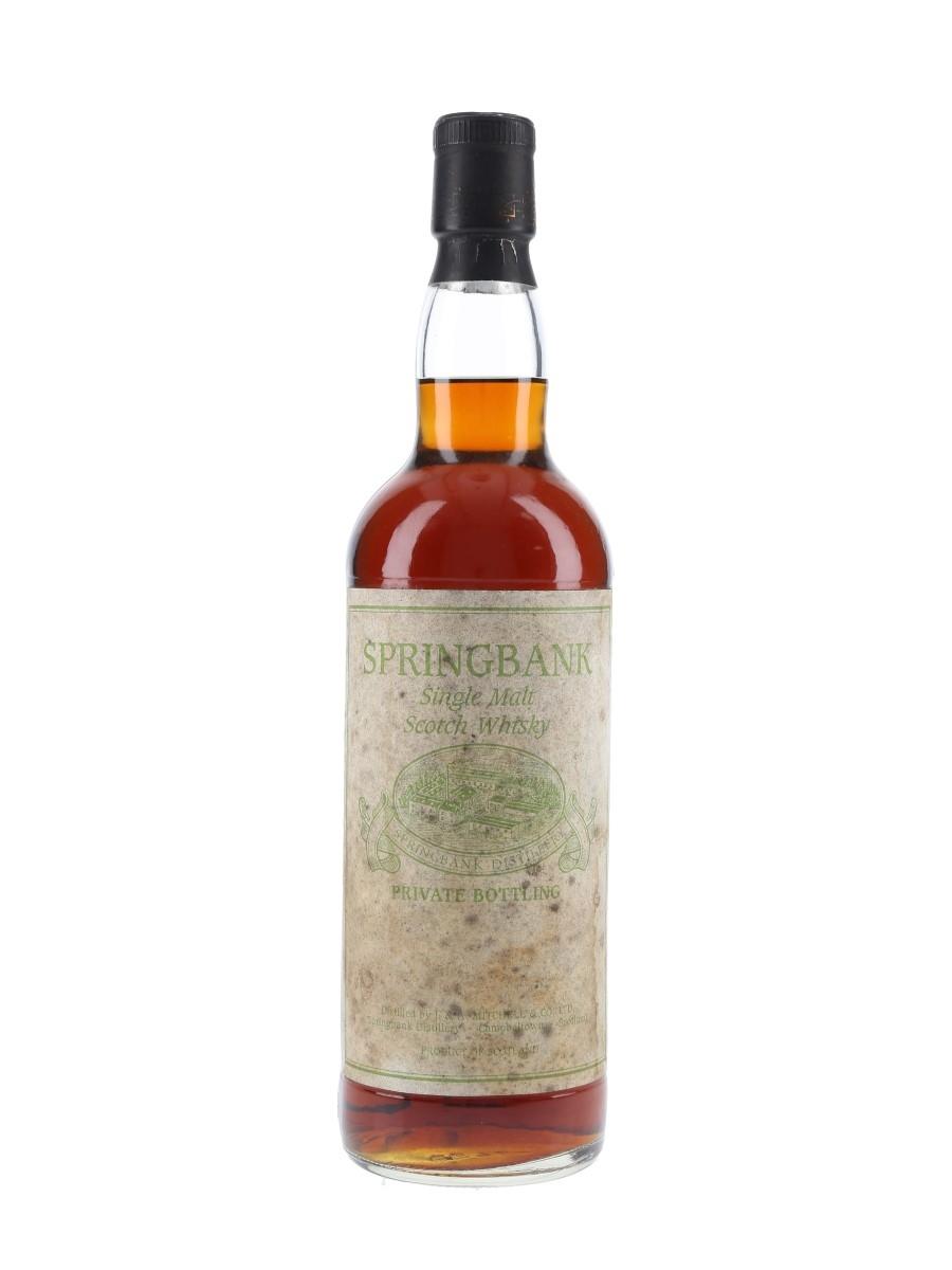 Springbank Private Bottling  70cl