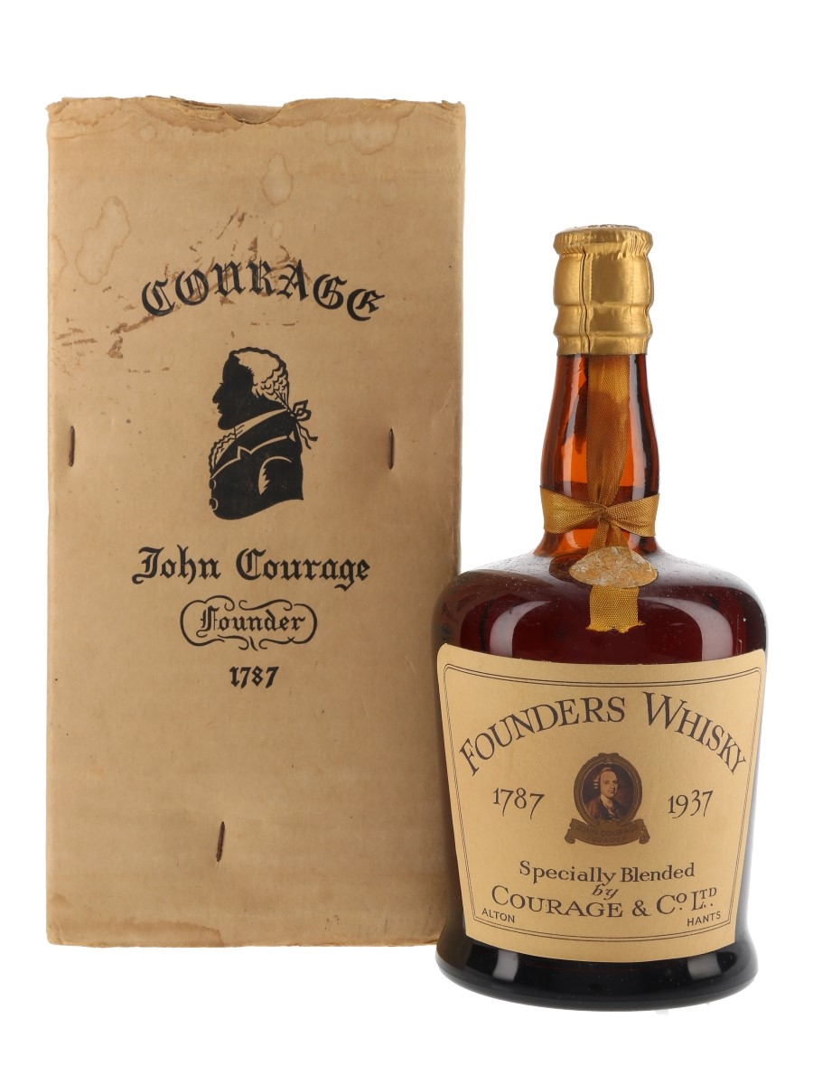 Courage & Co. Founders Whisky 1787-1937 Bottled 1930s 75cl