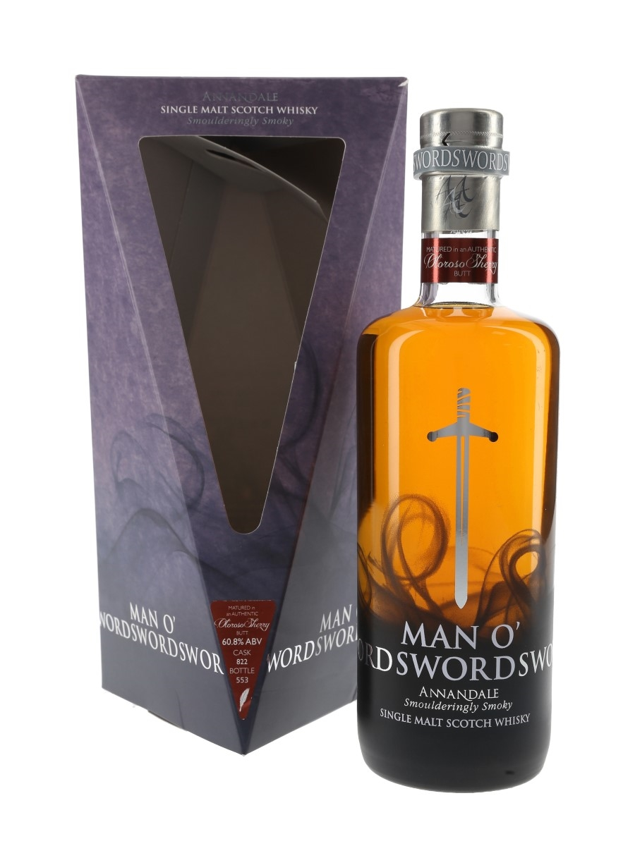 Annandale 2015 Man O'Sword Sherry Cask 760  70cl / 58.4%