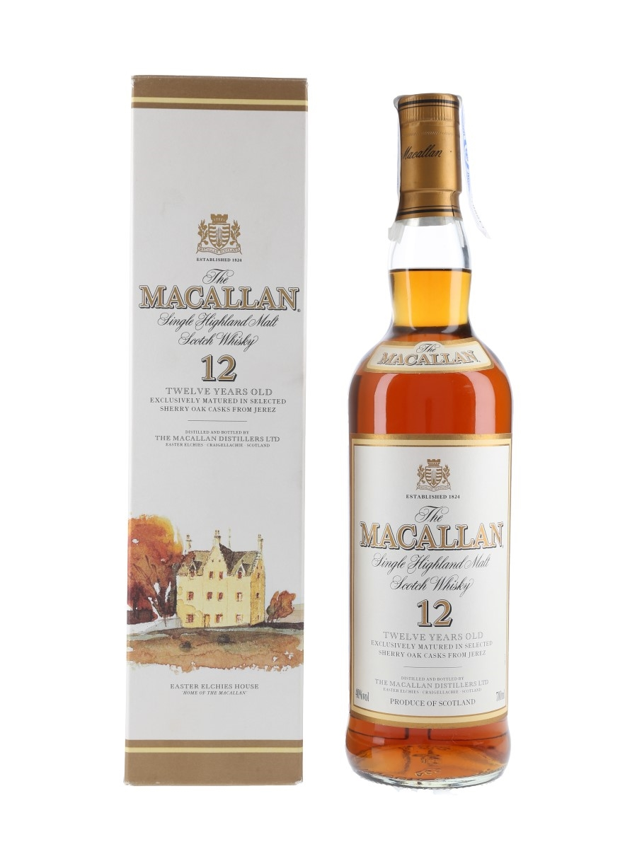 Macallan 12 Year Old Bottled 2000s 70cl / 40%
