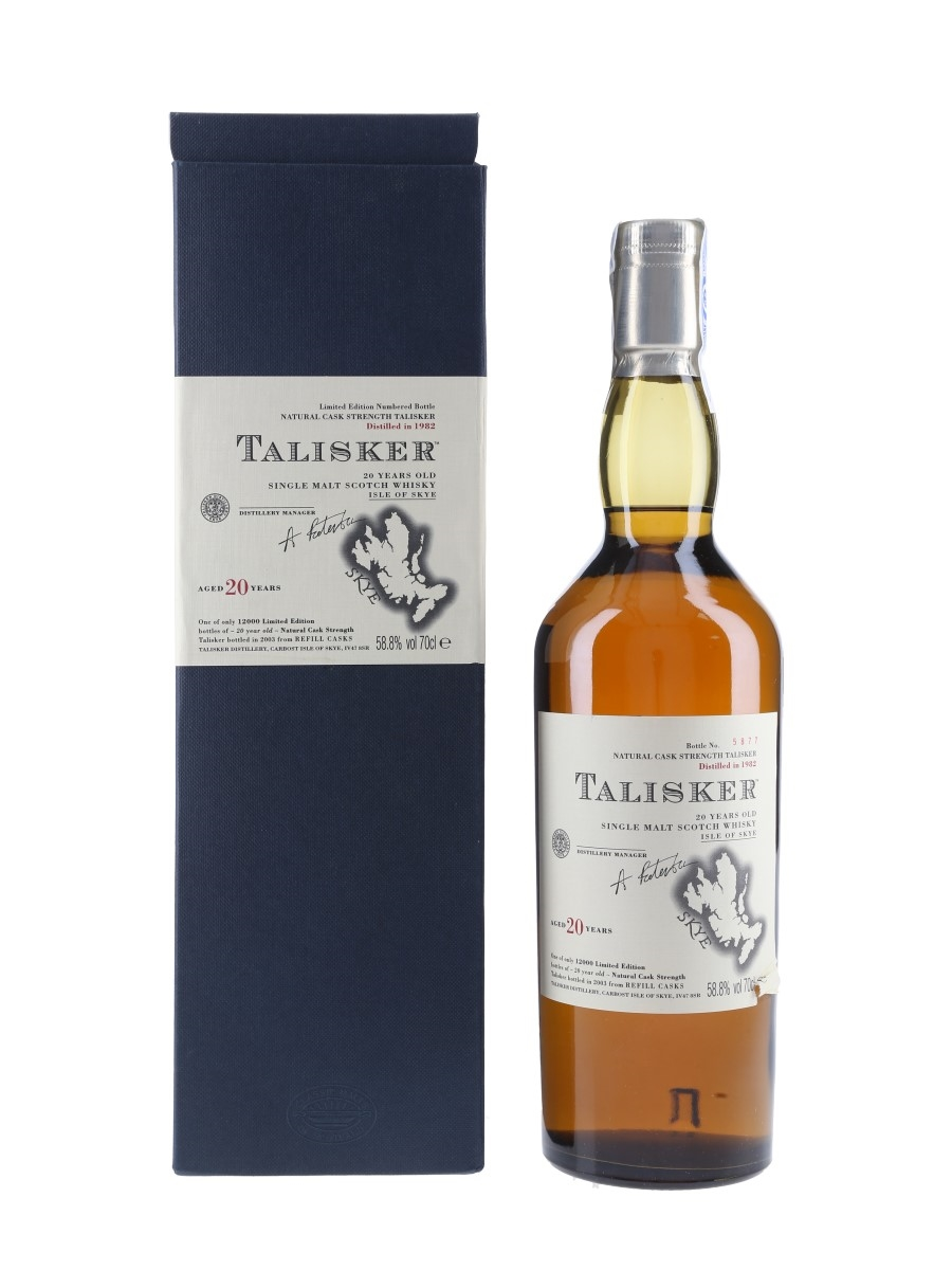 Talisker 1982 20 Year Old Special Releases 2003 70cl / 58.8%