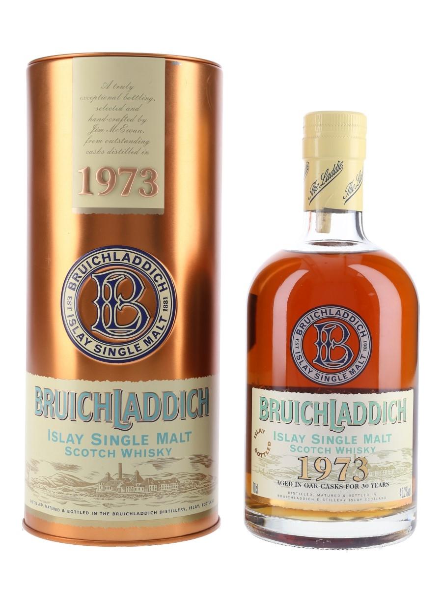 Bruichladdich 1973 30 Year Old  70cl / 40.2%